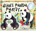 Giant Panda Party jacket cover