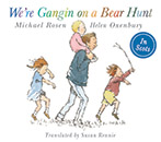 We're Gangin on a Bear Hunt jacket cover