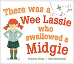 There Was a Wee Lassie Who Swallowed a Midgie jacket cover