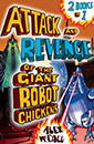 Attack and Revenge of the Giant Robot Chickens jacket cover