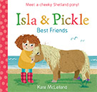 Isla and Pickle jacket cover