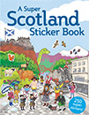 Super Scotland Sticker Book jacket cover